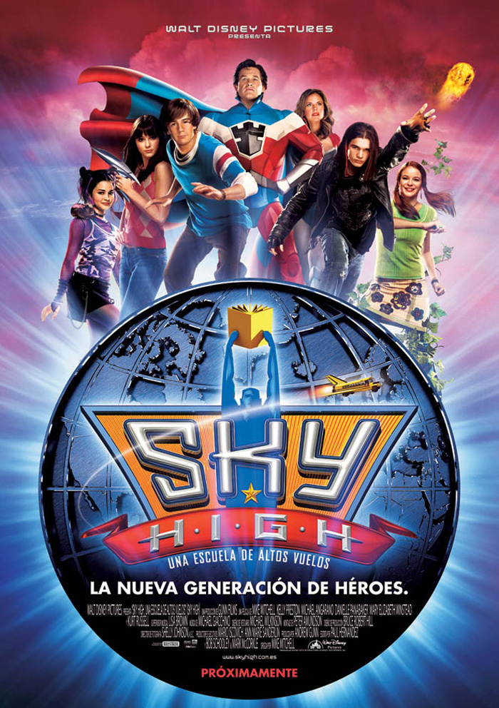 Sky High una escuela de altos vuelos