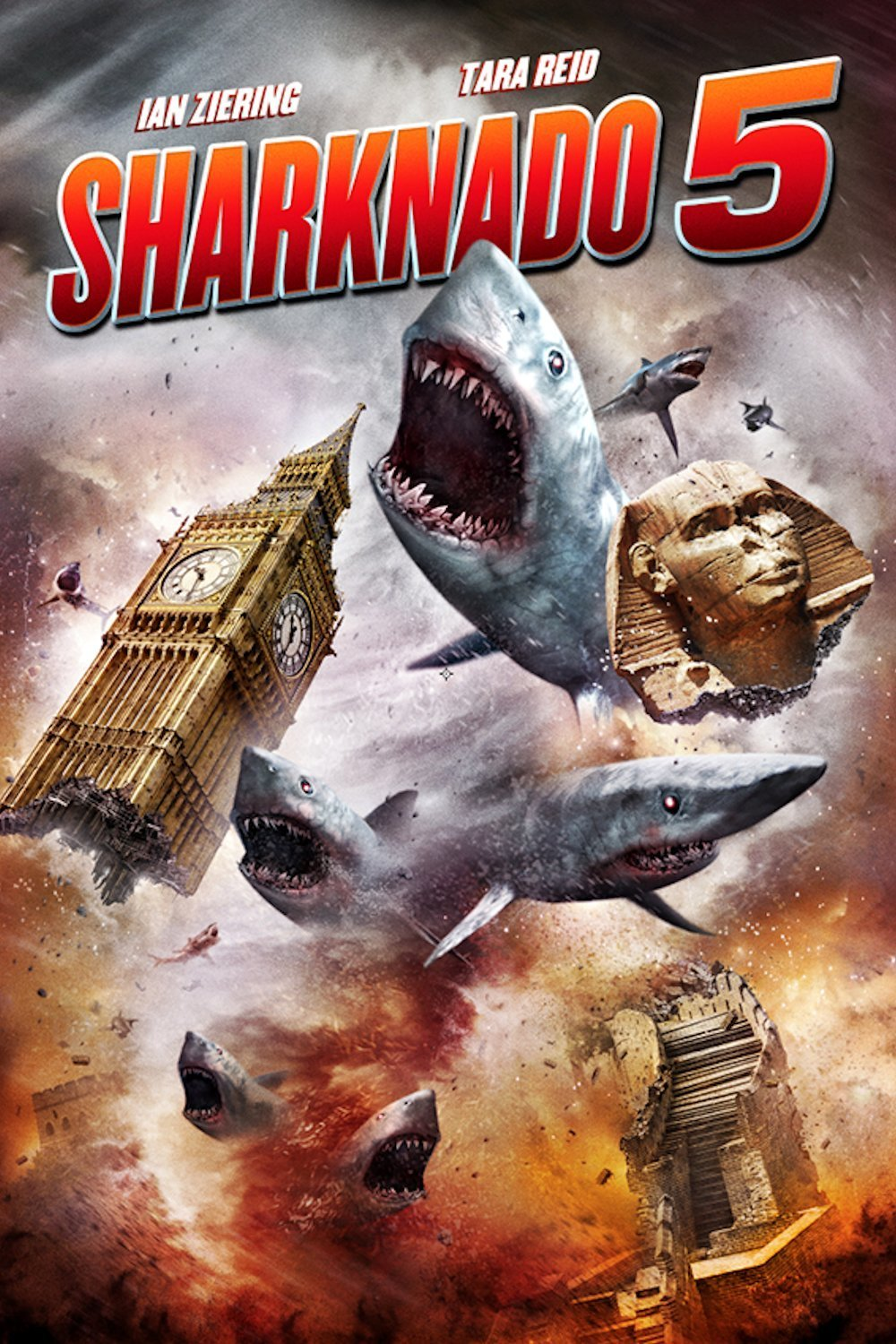 Sharknado 5 Enjambre global